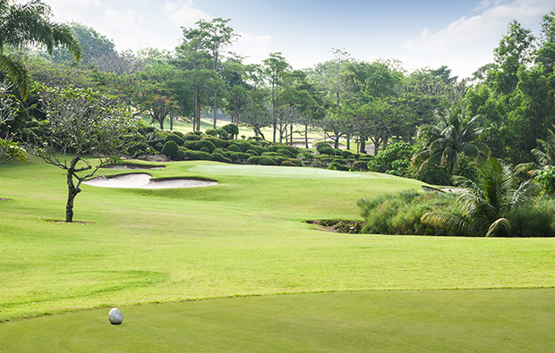 par 3, rayong green valley country club, pattaya, thailand