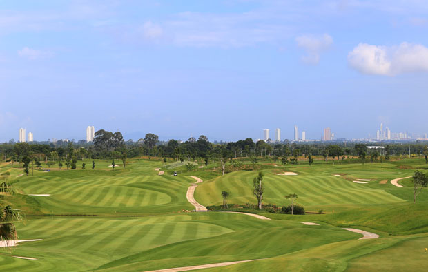 Chee Chan Golf Resort - View to City